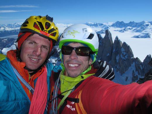Michael Lerjen und Jorge Ackermann (Fitz Roy, Patagonien) - Fotocredit: adidas Outdoor