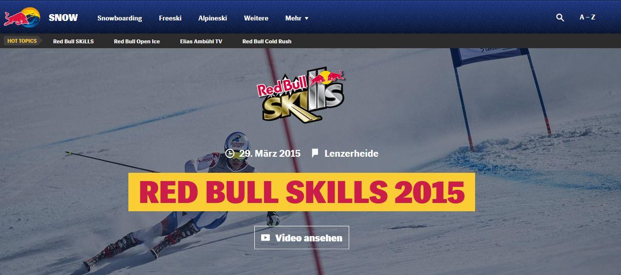 Red Bull Skills