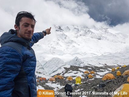 Fotocredit: Kilian Jornet - Everest 2017 - Summits of My Life - SUUNTO
